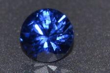 A Single 5mm Amazing DEEP BLUE Enhanced Natural SAPPHIRE!!!