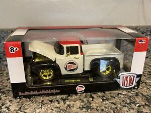 M2 Machines 1/24 1956 Ford F-100 Holley Chase 1/500 1:24 R66 18-16