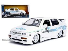 Fast & Furious Jesse's Volkswagen Jetta White by Jada 1:24 Model Car 99591 New