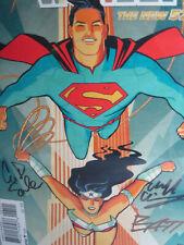CGC 9.8 SS SUPERMAN WONDER WOMAN #1 SIGNED X4 SOULE CHIANG DANIEL MATT BANNING