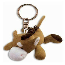 Horse Plush Keychain NEW Toys Soft Stuffed Plushie Keyring Puzzled Inc