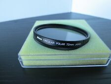 NIKON NIKKOR 72MM CIRCULAR POLAR POLARIZING FILTER
