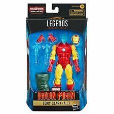"IRON MAN ( 6"" ) ( TONY STARK ) ( A.I. ) MARVEL LEGENDS ( 2021 ) ACTION FIGURE #6"
