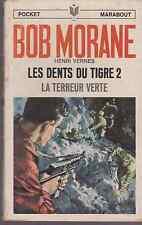BOB MORANE MARABOUT POCKET N° 31 - 44 - 49 - 90 - HENRI VERNES
