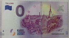 Billet Touristique 0 euro TALLINN 2018 Souvenir ESTONIE