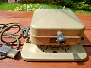 Antique Chicago1926 Rare Bersted Electric Sandwich Toaster Cord Bersted Manf Co