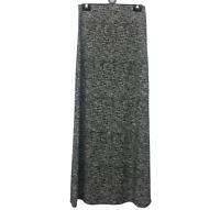 High Quality Ladies Maxi Long Skirt Knitted Texture Elastic Waist Gypsy Muslim