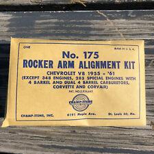 NOS CHEVROLET 265 283 1955 56 57 58 59 60 61 Engine Rocker Arm Alignment Kit