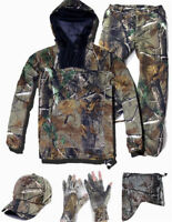 Bionic Ghillie Suits Prevent Mosquito Outdoor Camouflage suit set  f Hunting