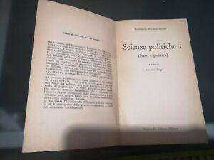 GG LIBRO: SCIENZE POLITICHE 1 ANTONIO NEGRI – STATO E POLITICA FELTRINELLI 1970
