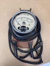 Antique Echlin Dc Voltage Dcamperes Testing Equipment