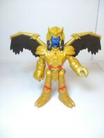 "2015 Mattel GOLDAR Action Figure Power Ranger Villian 10.5"" Retractable Wings"