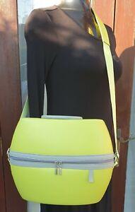 Oriflame Cosmetic Bag Green Suitcase/Trunk Large Fun/Unusual Design
