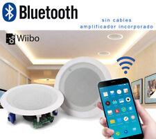 "Wiibo Spirit 55BT Altavoces Techo Blancos Bluetooth empotrables 5,25"" 20W"