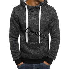 USA Men's Outwear Sweater Winter Hoodie Warm Coat Jacket Slim Hooded Sweatshirt