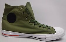 Converse All Star Size 10.5 Fatigue Green Hi Top Sneakers New Mens Shoes