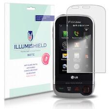 iLLumiShield Matte Screen Protector w Anti-Glare/Print 3x for Samsung Omnia HD