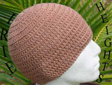 100% Cotton Irie Heights Bronze Beanie Hat Ski, Surf, Skater Rasta Tam One Size