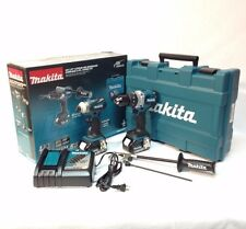 Makita XT252TB LXT 18V 5.0 Ah Li-Ion Brushless Hammer/Drill & Impact Driver Kit