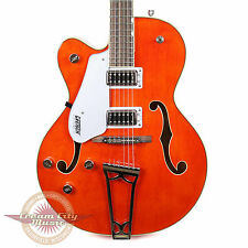 Gretsch G5420LH Electromatic Hollow Body Left Handed Orange Lefty Demo Model