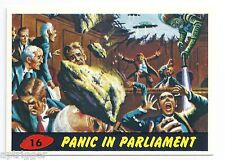 1994 Topps MARS ATTACKS Base Card # 16 Panic In Parliament