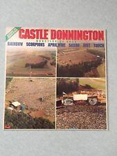 CASTLE DONNINGTON 1980 MONSTERS OF ROCK VINYL LP CAT: PD-1-6311 POLYDOR
