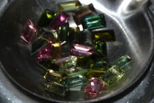 Beautiful VVS 1ct 4 piece Lot of Natural Mixed Color Tourmaline Gemstones