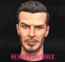 1/6 David Beckham Head Sculpt For Hot Toys Narrow Shoulder Body SHIP FROM USA