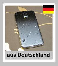 Samsung Galaxy S5 RainDrop Schutzhülle HardCase  Regentropfen schwarz ( D2B)