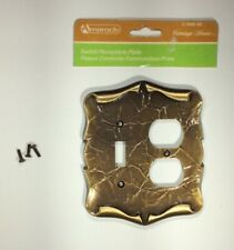 VTG Switch/Receptacle Plate Amerock The Carriage House Collection