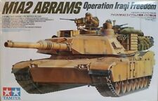 Tamiya 1/35 scale kit 35269, M1A2 Abrams. Operation Iraqi frerdom