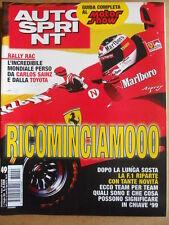 AUTOSPRINT n°49 1998 Rally Rac Mondiale perso Carlos Sainz Toyota  [P70]