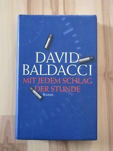 MIT JEDEM SCHLAG DER STUNDE * DAVID BALDACCI * TOP ZUSTAND