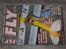 $$6 Revue Fly International N°78 Plan encarte Morane Type H  V-Star 2  Bird Dog