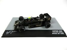 Formule 1 Lotus 98T Ayrton Senna GP Brésil 1986 - 1/43 Voiture F1 711