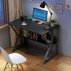 Home Office Desk Computer Desk Table Study PC Laptop Writing Desk Gaming Table