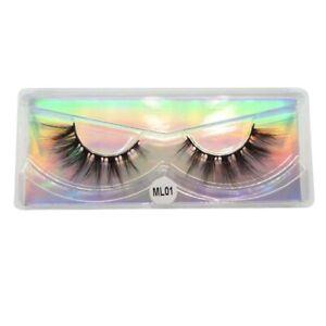Mink Lashes Bulk Volume Wispy Natural Mink Eyelashes Lash Extension Makeup False