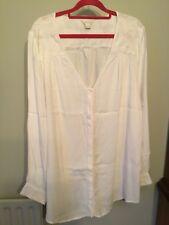 Ladies size 18 cream Monsoon top - worn twice