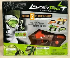 Lazer Tag Team Ops Deluxe 2-Player System w/ 2 Guns Huds Goggles - New Open Box