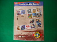 Celebrate the Century 1900's Mint Stamp Sheet NH VF Original pk
