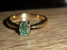 18K INDIAN ALEXANDRITE OVAL CUT RING 0.428 CTS RARE GOOD COLOUR CHANGE V RARE