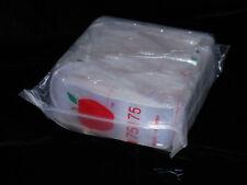 """Apple Brand  Clear 175175 Baggies 1.75""""x1.75"""" Bags Ziplock Wholesale!(1,000 ct)"""