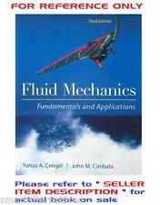 Fluid Mechanics Fundamentals & Applications 3e by Cengel, Cimbala 3rd SI Edition
