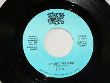S.S.O.: Tonight's the Night / disco mix  [Unplayed Copy]