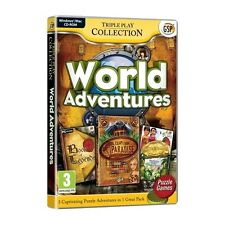 World Adventures Triple Pack Game PC 100% Brand New