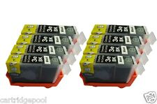 8 pack Black cartridgs for Canon BCI-3eBK i450 i550 ip5000 MP750 BJC-3010