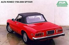 "1971-94 Alfa Romeo 1750, 2000 Spider, Graduate, Veloce Top ""Robbins"""