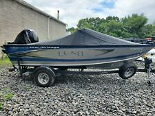 2019 Lund 1775 Crossover XS, 150HP  Mercury 4 Stroke with 9.9 Kicker Like New