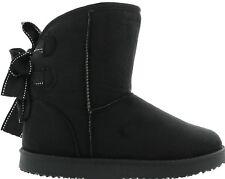 Damen Winter Boots,Stiefel,Stiefeletten,Farbe Schwarz,Kunstfell,Gr. 36