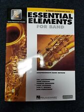 Hal Leonard Essential Elements Interactive Bb Tenor Saxophone Book 1